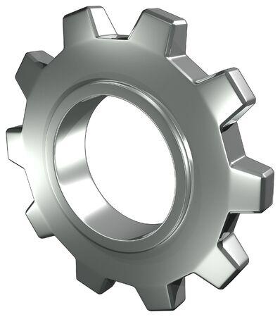Acero Gear Foto de archivo - 6019632