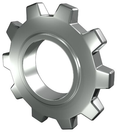 Steel Gear Stock Photo - 6019632