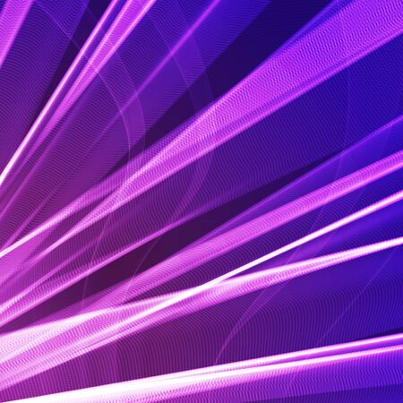 Abstract Purple Light Beams