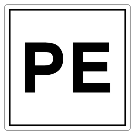 Physical Earth Symbol Sign, Vector Illustration, Isolate On White Background Label. EPS10