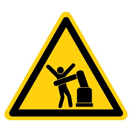 Robot Symbol Sign, Vector Illustration, Isolate On White Background Label .EPS10 Stock fotó - 122254708