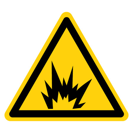 Arc Flash Hazard Symbol Sign, Vector Illustration, Isolate On White Background Label .EPS10
