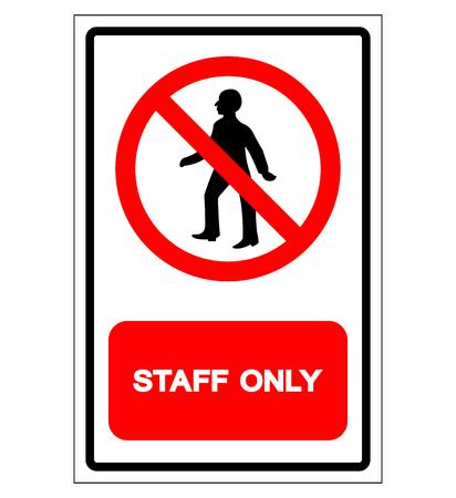 Nur Personal Symbol Zeichen, Vektor-Illustration, Isoliert Auf Weißem Hintergrund-Label. EPS10