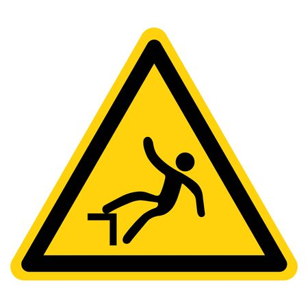 Beware Drop Symbol, Vector Illustration, Isolate On White Background Label. Çizim