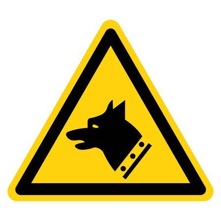 Gauge Dog Symbol Sign, Vector Illustration, Isolate On White Background Label.