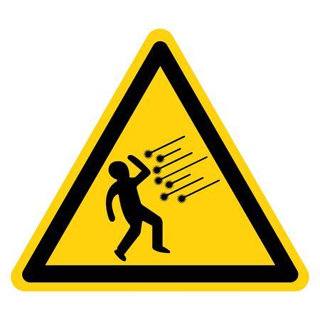 Danger Spark Symbol Sign, Vector Illustration, Isolate On White Background,  イラスト・ベクター素材