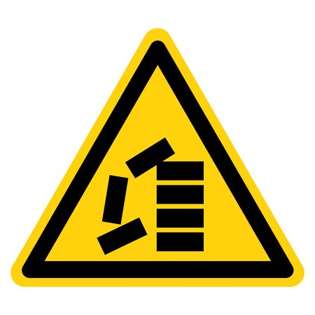 Warning Stack Correctly Symbol Sign, Vector Illustration, Isolate On White Background Label .EPS10