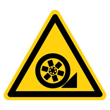 Warning Use Stopper Symbol Sign, Vector Illustration, Isolate On White Background Label .EPS10