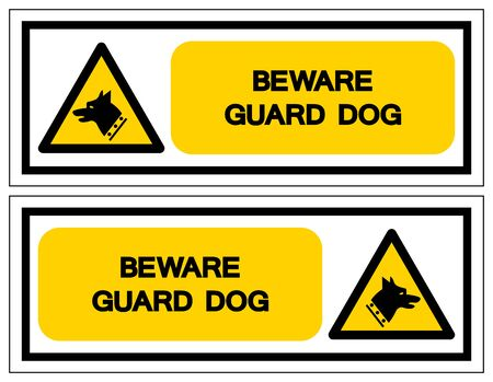 Gauge Dog Symbol Sign, Vector Illustration, Isolate On White Background Label. EPS10 Vettoriali