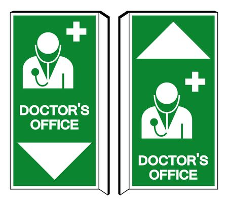 DoctorS Office Symbol Sign, Vector Illustration, Isolate On White Background Label.