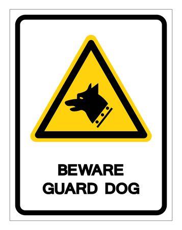 Gauge Dog Symbol Sign, Vector Illustration, Isolate On White Background Label. Archivio Fotografico - 133458560