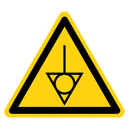 Warning Equipotential Symbol Sign, Vector Illustration, Isolate On White Background Label. EPS10 Standard-Bild - 134017800