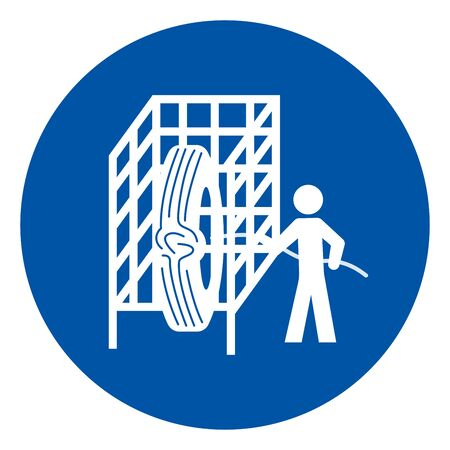 Cage Symbol Sign, Vector Illustration, Isolate On White Background Label. EPS10