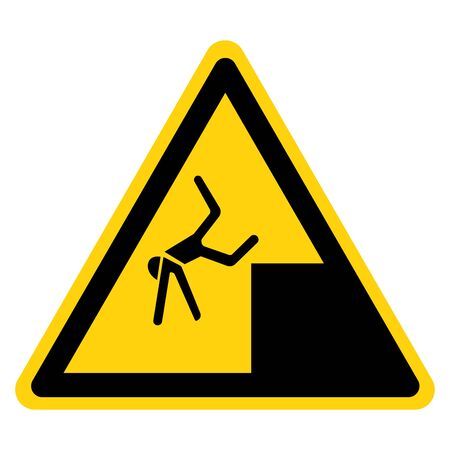 Beware Drop Symbol Sign, Vector Illustration, Isolate On White Background Label