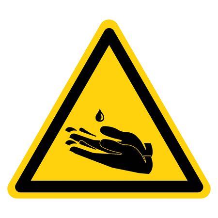 Please Use Hands Sanitizer Symbol Sign ,Vector Illustration, Isolate On White Background Label. Иллюстрация