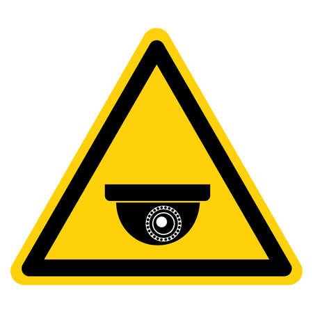 CCTV Security Camera Symbol Sign, Vector Illustration, Isolate On White Background Label .EPS10