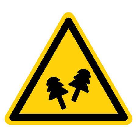Warning Wear Ear Plugs Symbol Sign ,Vector Illustration, Isolate On White Background Label. Illusztráció