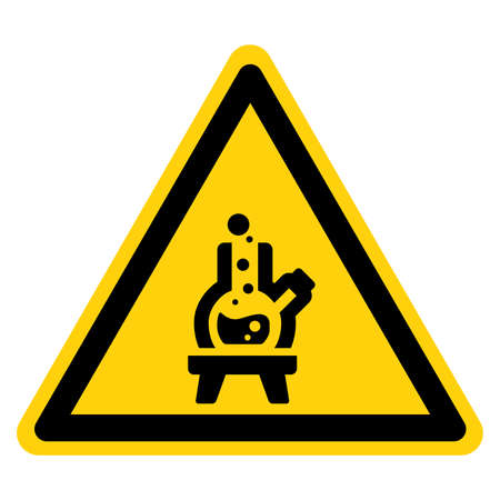 Lab Area Symbol Sign, Vector Illustration, Isolate On White Background Label.