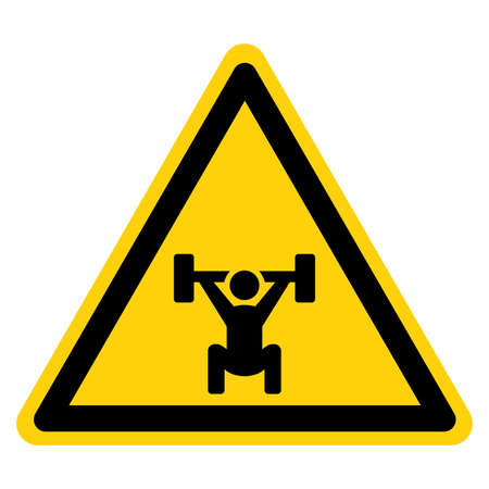 Fitness Area Symbol Sign, Vector Illustration, Isolate On White Background Label. Illusztráció