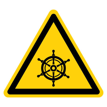 Sailing Area Symbol Sign, Vector Illustration, Isolate On White Background Label.