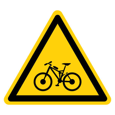 Mountain Bike Symbol Sign ,Vector Illustration, Isolate On White Background Label.