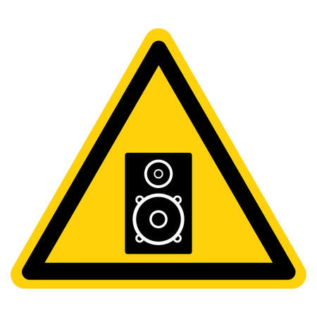 High End Speakers Symbol Sign,Vector Illustration, Isolate On White Background Label. EPS10 일러스트