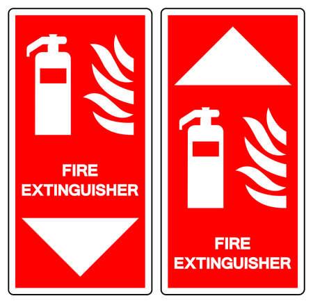 Fire Extinguisher Symbol Sign ,Vector Illustration, Isolate On White Background Label .EPS10