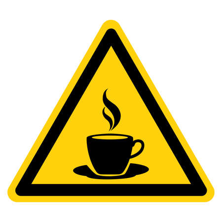 Cup Of Coffee Symbol Sign,Vector Illustration, Isolate On White Background Label. EPS10