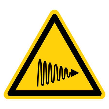 Ultraviolet (UV) Light Symbol Sign,Vector Illustration, Isolate On White Background Label. EPS10 向量圖像