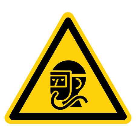 Wear Breathing Apparatus In This Area Symbol Sign