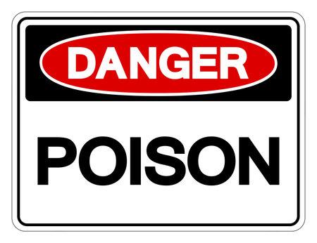 Danger Poison Symbol Sign