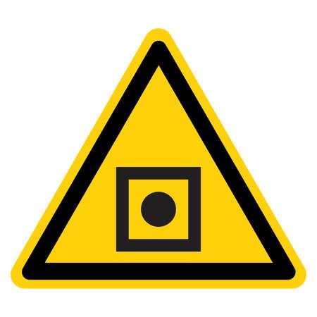Shipboard General Alarm Symbol Sign, Vector Illustration, Isolate On White Background Label.