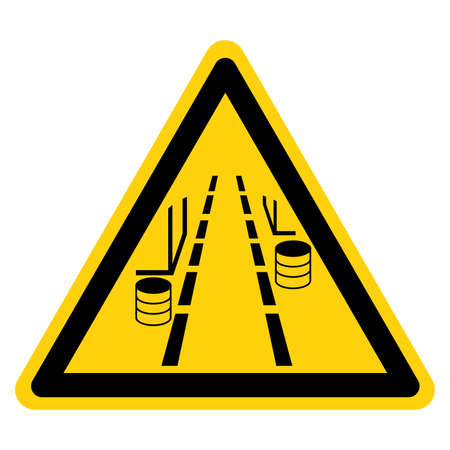 Aisle Must Be Kept Clear Symbol Sign ,Vector Illustration, Isolate On White Background Label.