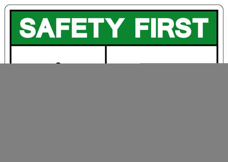 Safety First Noise Hazard Symbol Sign, Vector Illustration, Isolate On White Background Label. EPS10