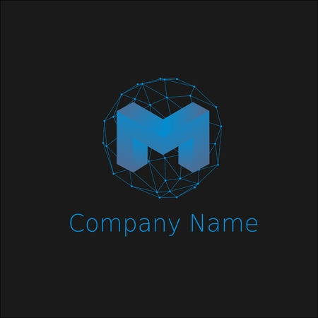 Best logotype in the world for your web site Illustration