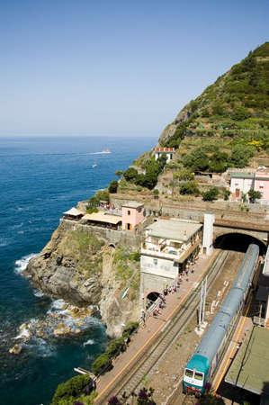 cinque: view of the Cinque Terre