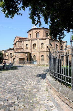 byzantine: Byzantine Church of San Vitale, Ravenna