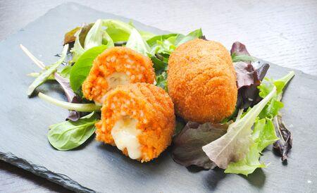 Soppli  a typical Italian street food