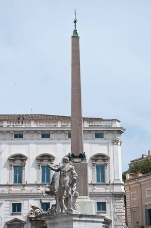 particularly: Particularly the Obelisk in Piazza montecitorio montecitorio, the building where lives the President of Italy,rome