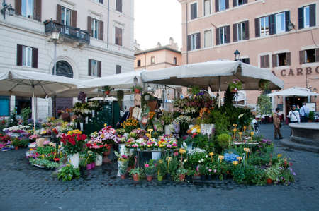 marte: 23 may 2015-rome-italy-Stand of flowers in the Campo di marte in Rome,italy Editorial