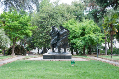 dedicated: 15 may 2015-Rome-Italy- Statue dedicated to the Italian Carabinieri military corps,italy