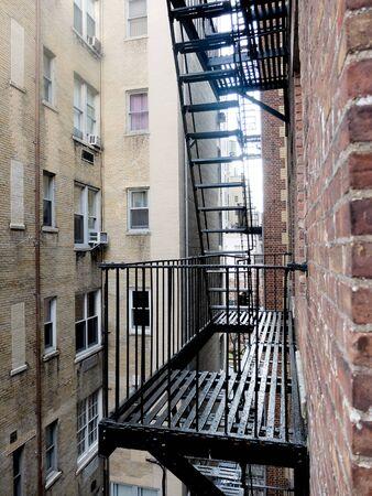 escapes: fire escapes in New York