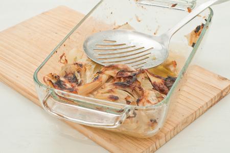 finocchio: finocchi gratinati al forno con pangrattato, Italia