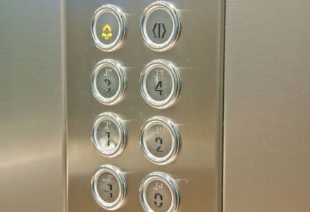 lift: push button inside the lift,italy