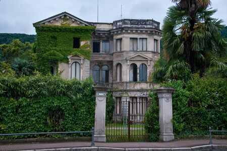 disuse: ancient and beautiful nineteenth century villa in disuse located in Stresa
