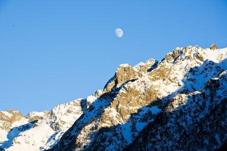 the beautiful mountains around bionaz in Valle dAosta