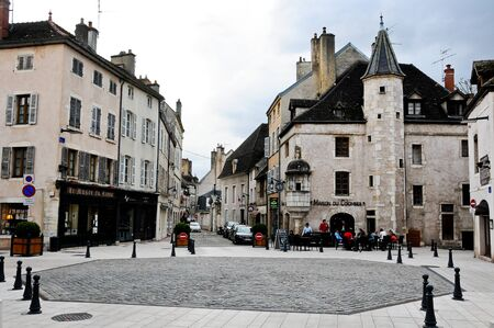 pinot noir: 2 may 2013-beaune-france-the beautiful and ancient streets of beaune burgundy france