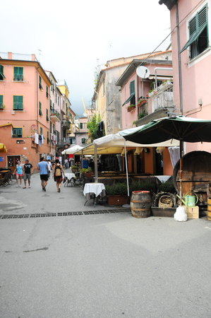 monterosso: 21 september 2014-monterosso-italy-      The beautiful streets of Monterosso in cinqueterre in winter,italy