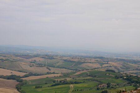 montepulciano: Beautiful landscapes in the Tuscan countryside near Montepulciano,italy