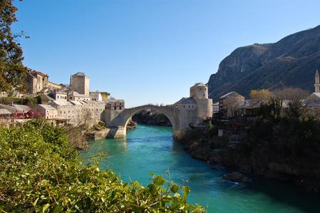 Old Bridge a Mostar, bosnia